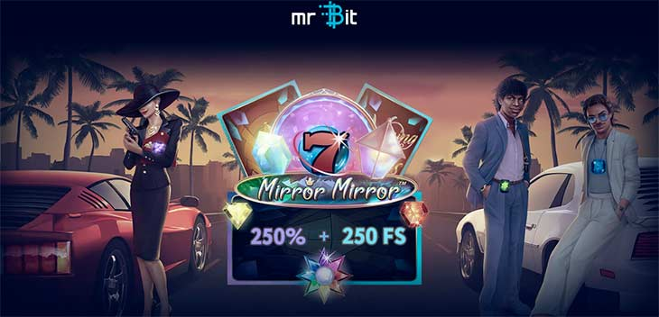 Get 250 Free Spins from MrBit